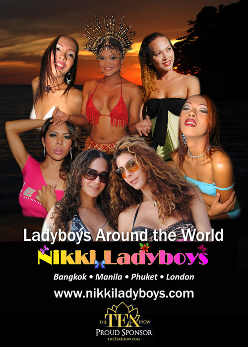 Nikkiladyboy.com Sponsors TEA Show